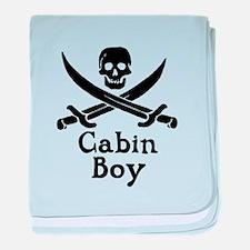 Cabin Boy baby blanket