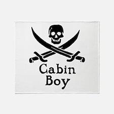 Cabin Boy Throw Blanket