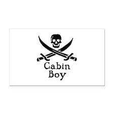 Cabin Boy Rectangle Car Magnet