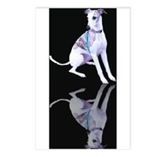 Whippet Reflection Postcards (Package of 8)
