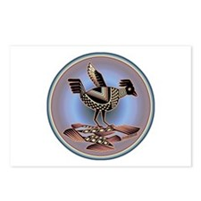 Mimbres Cream Quail Postcards (Package of 8)