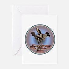 Mimbres Cream Quail Greeting Cards (Pk of 20)