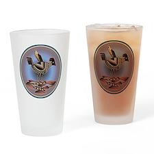 Mimbres Cream Quail Drinking Glass