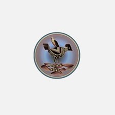 Mimbres Cream Quail Mini Button