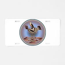 Mimbres Cream Quail Aluminum License Plate