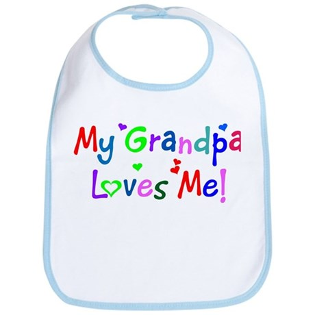 My Grandpa Loves Me (des. #1) Bib