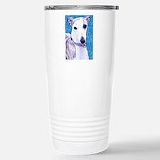 Whippet Head Travel Mug