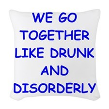 together Woven Throw Pillow