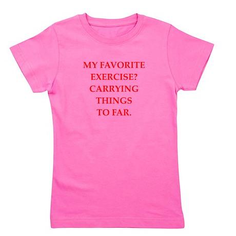 exercise Girl's Tee