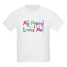 My Poppy Loves Me (des. #1) Kids T-Shirt