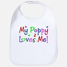 My Poppy Loves Me (des. #1) Bib