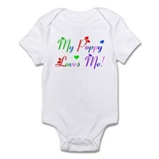 My Poppy Loves Me (des. #2) Infant Bodysuit