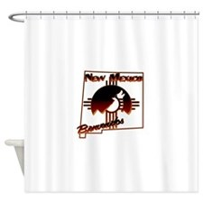 NM Coyote Silhouette Shower Curtain