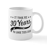 30th birthday Small Mugs (11 oz)