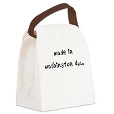 made in washington dc Canvas Lunch Bag