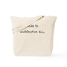 made in washington dc Tote Bag