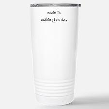 made in washington dc Travel Mug