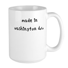 made in washington dc Mug
