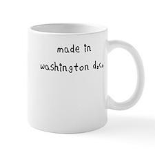 made in washington dc Mug