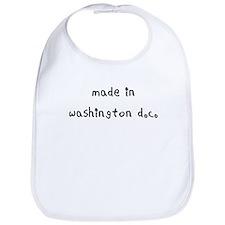 made in washington dc Bib