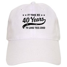 Funny 40th Birthday Baseball Cap