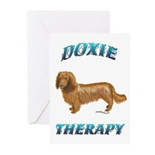 Doxie Therapy Greeting Cards (Pk of 10)