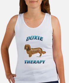 Doxie Therapy Women's Tank Top