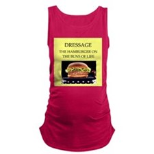 dressage Maternity Tank Top