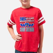 AmericansLoveCindySheehanT Youth Football Shirt