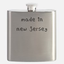 made in new jersey Flask