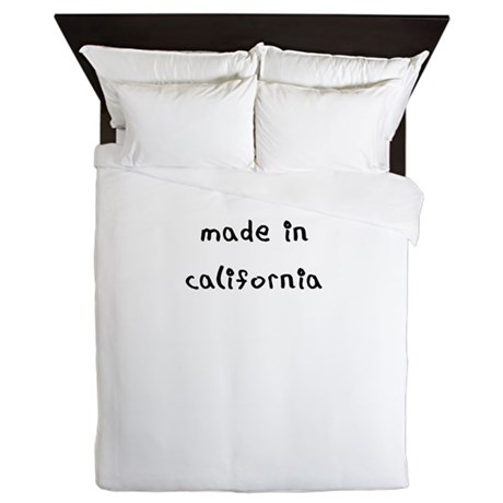 made in california Queen Duvet