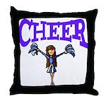 Cheer! Throw Pillow