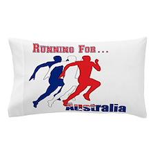 Running Australia Pillow Case