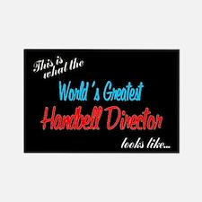 World's Greatest Director Black Rectangle Magnet (