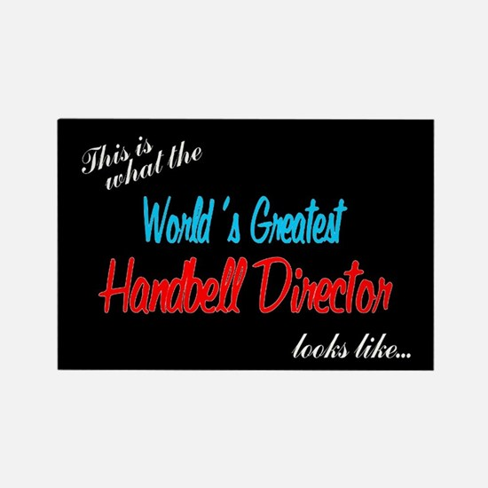 World's Greatest Director Black Rectangle Magnet
