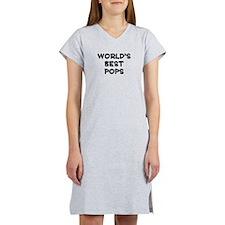 Worlds Best Pops Women's Nightshirt