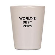 Worlds Best Pops Shot Glass