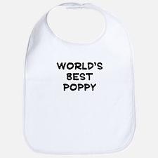 Worlds Best Poppy Bib