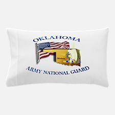 Army National Guard - OKLAHOMA w Flag Pillow Case