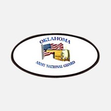 Army National Guard - OKLAHOMA w Flag Patches