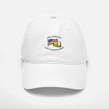 Army National Guard - OKLAHOMA w Flag Baseball Baseball Cap