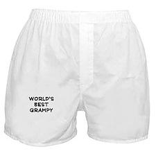 Worlds Best Grampy Boxer Shorts