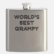 Worlds Best Grampy Flask