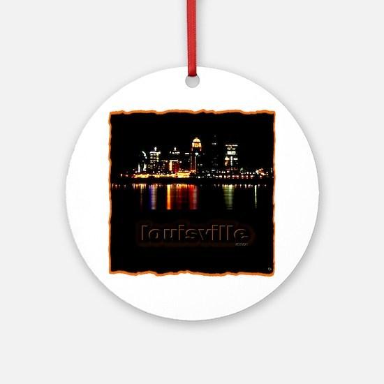 Louisville Ornament (Round)