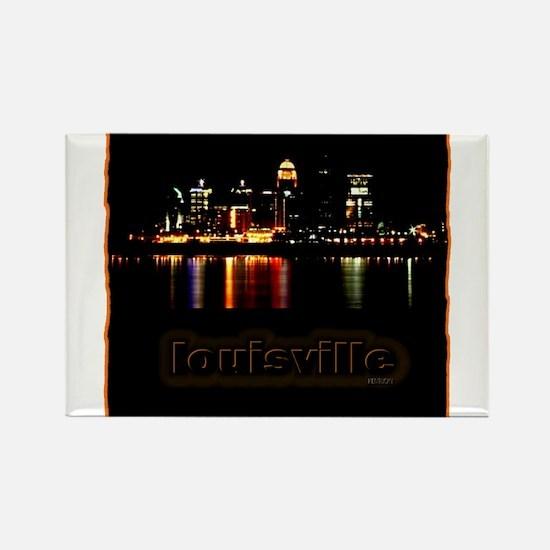 Louisville Rectangle Magnet