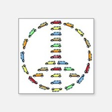 Cooper Peace Oval Sticker