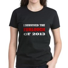 I survived the Furlough of 2013 T-Shirt