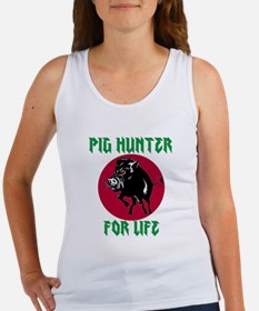 Pig hunter for life Tank Top