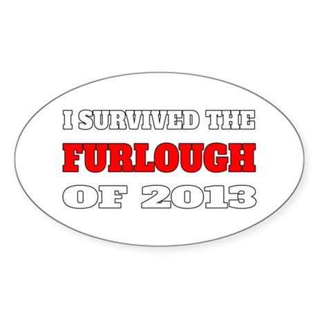 I survived the Furlough of 2013 Sticker
