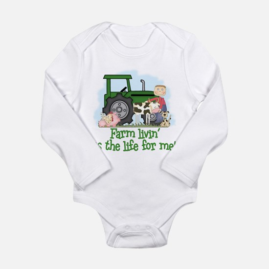 Farm Livin' (Boy) Body Suit